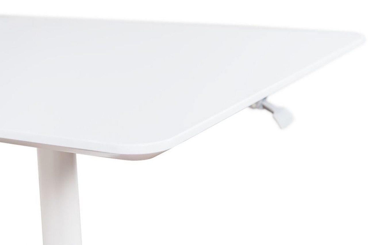 "32"" PNEUMATIC HEIGHT ADJUSTABLE SQUARE CAFÉ TABLE"