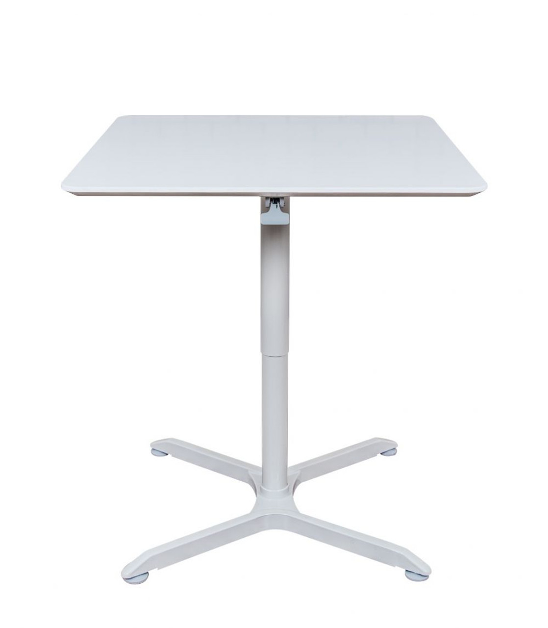 "36"" PNEUMATIC HEIGHT ADJUSTABLE SQUARE  TABLE"