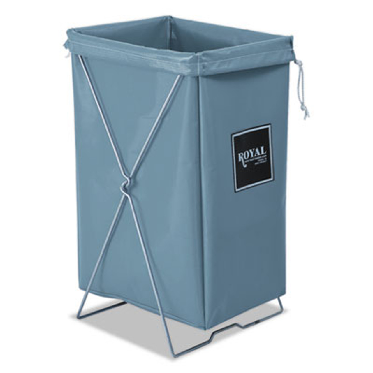 Royal Hamper, Hamper Bag and Stand, 30 gal, 15w x 16d x 30h, Gray