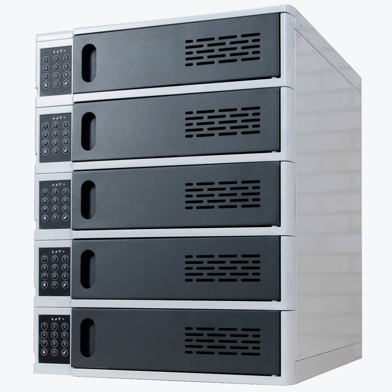 5-Bay Charging Locker for Mobile Devices LLTSW5-G