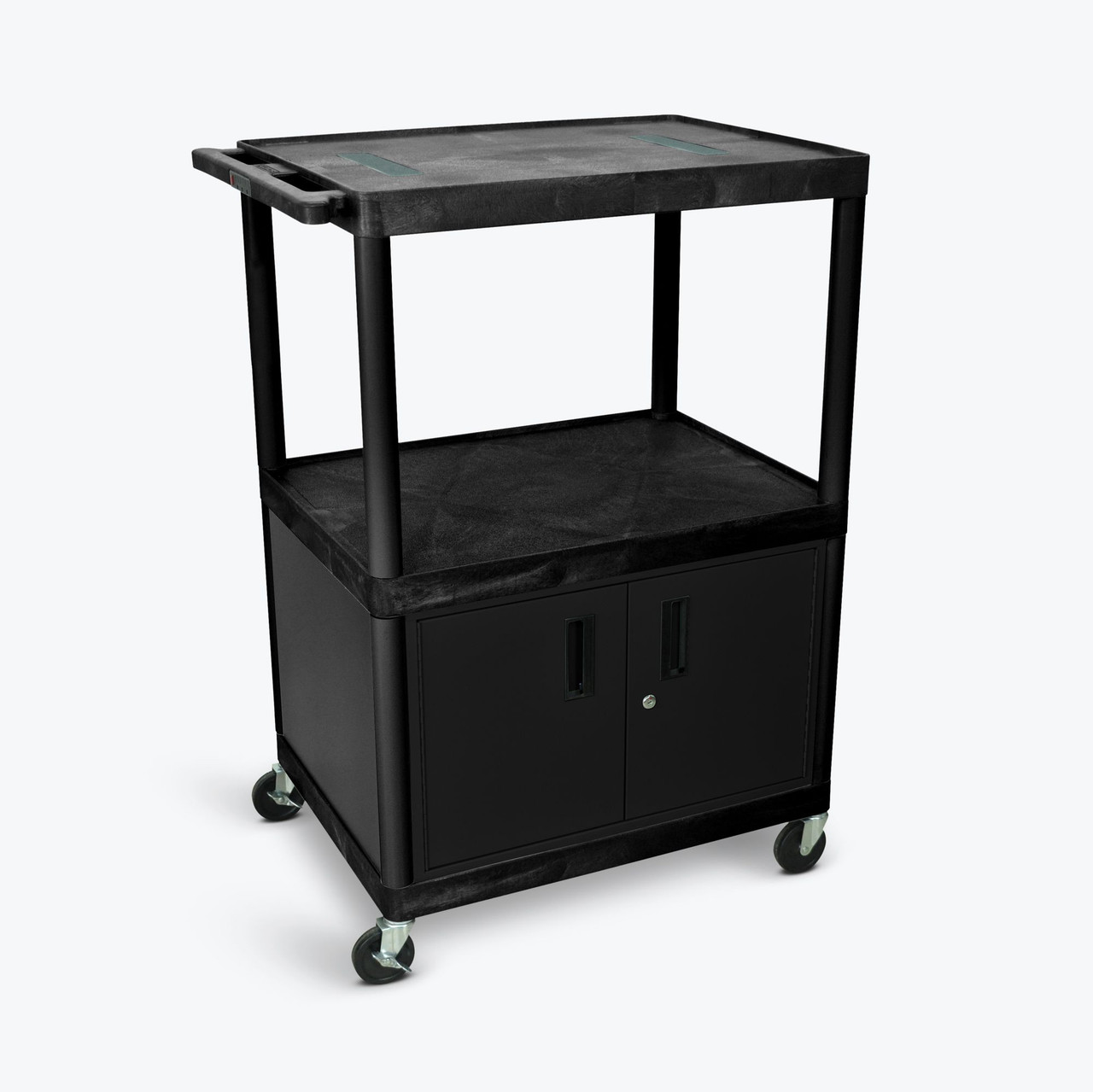 "48"" Endura A/V Cart - Two Shelves, Cabinet LE48C-B"