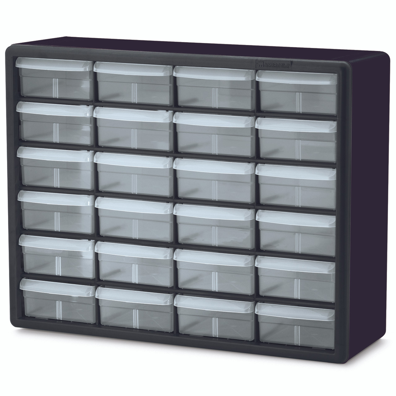 Cabinet, Plastic Storage Cabinet 24 Drawer  10124