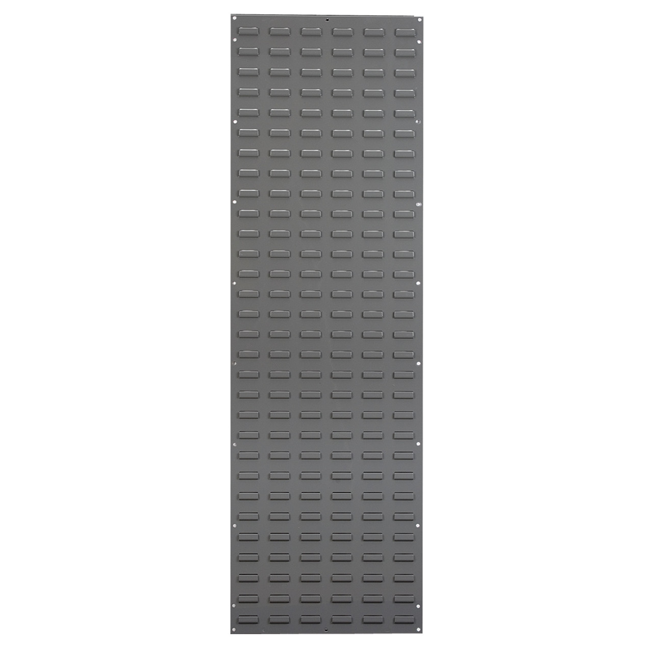 Louvered Wall Panel, 18 x 61, Gray  30118