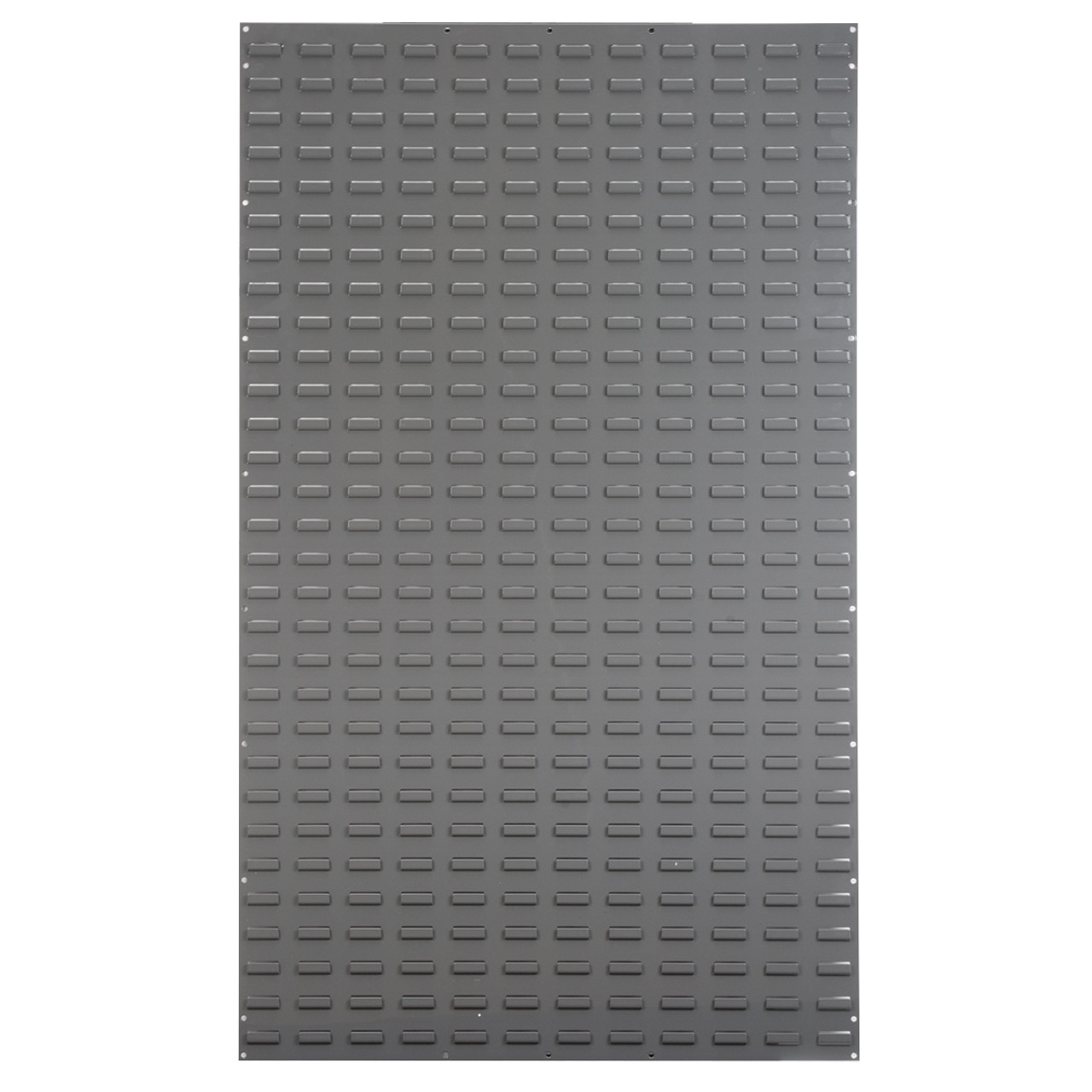 Louvered Wall Panel, 36 x 61, Gray  30161