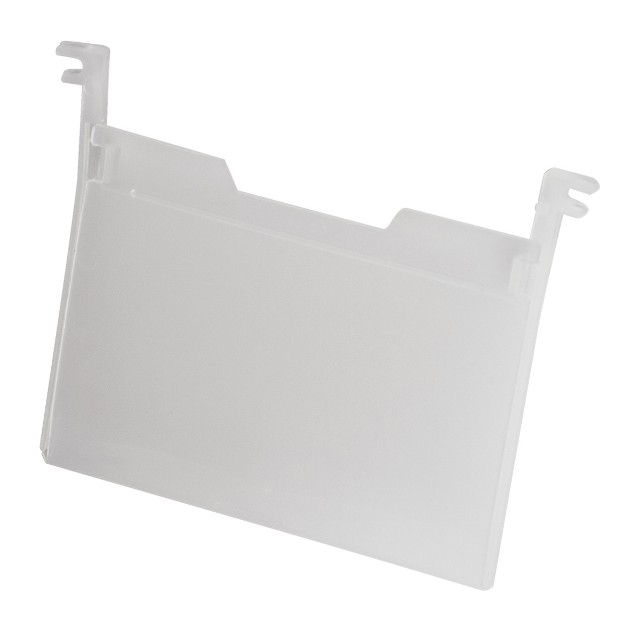 Label Holder for Totes, 6 Pk, Clear  35010