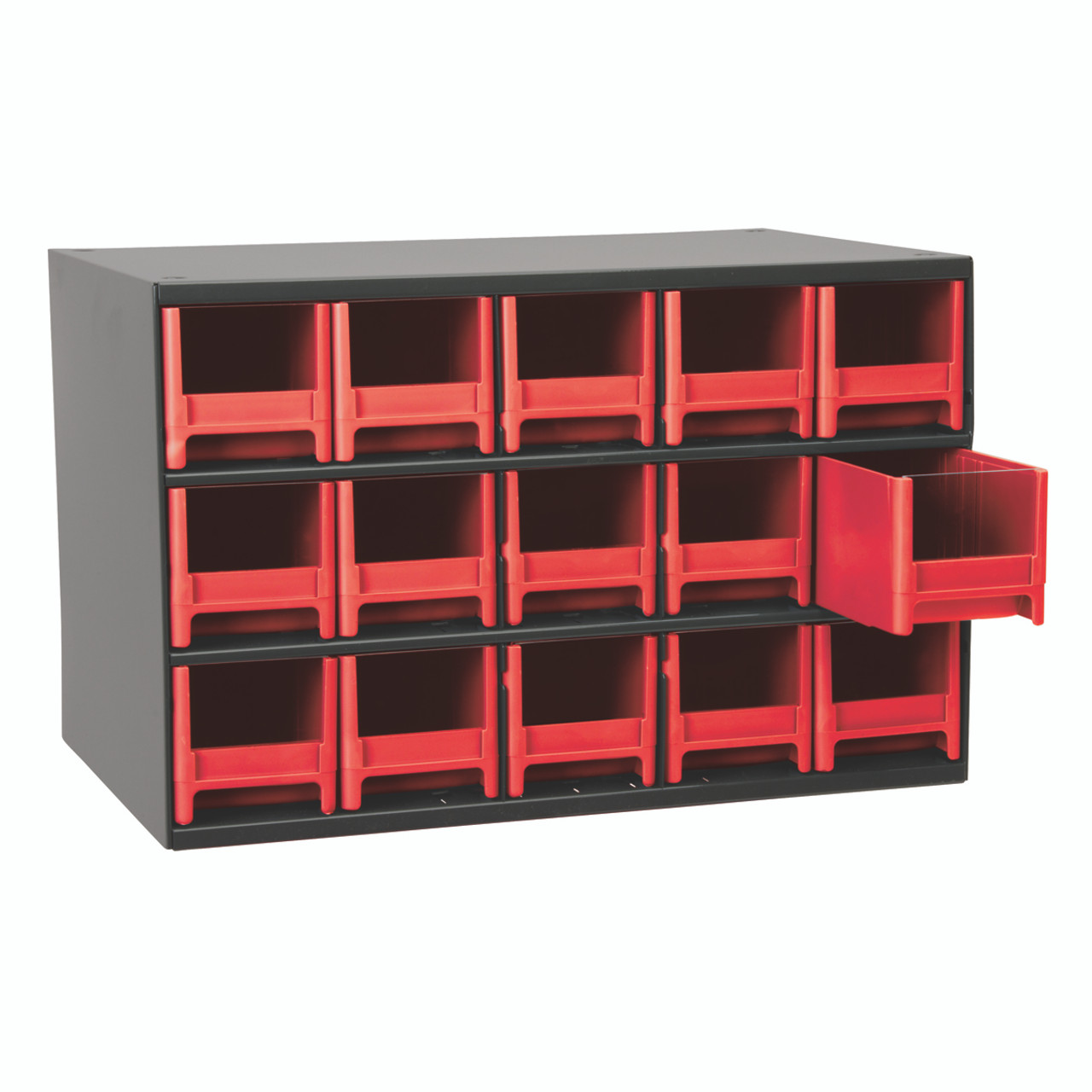 Cabinet, Steel Cabinet w/ 15 Drawers, Red  19715RED