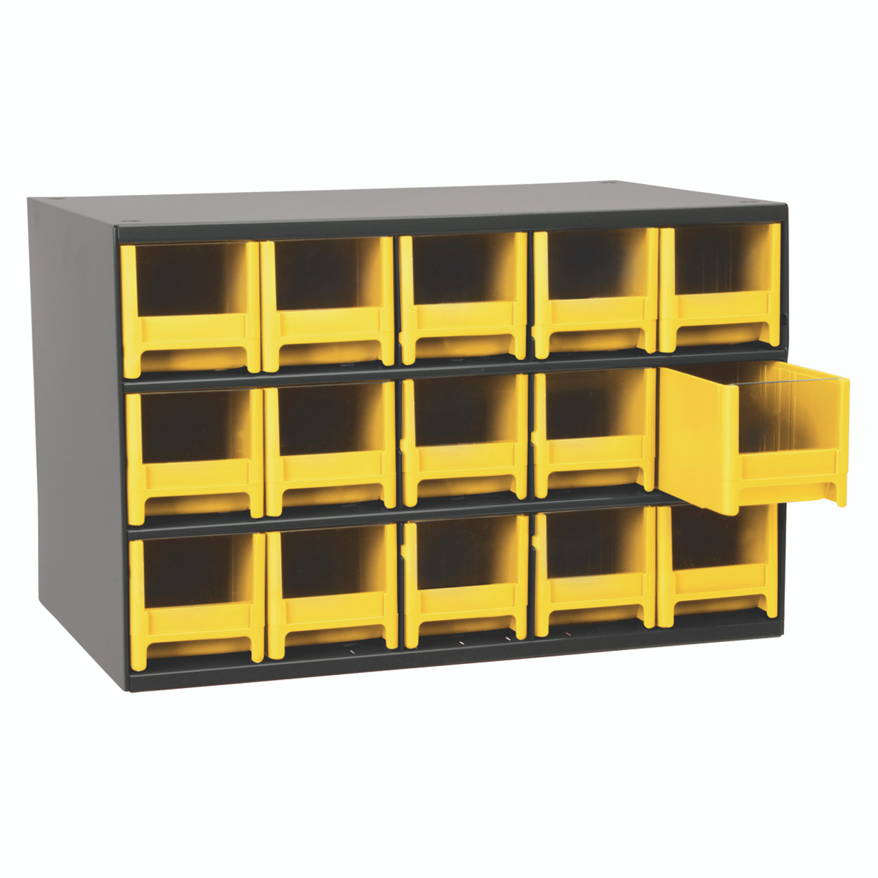 Cabinet, Steel Cabinet w/ 15 Drawers, Yell 19715YEL