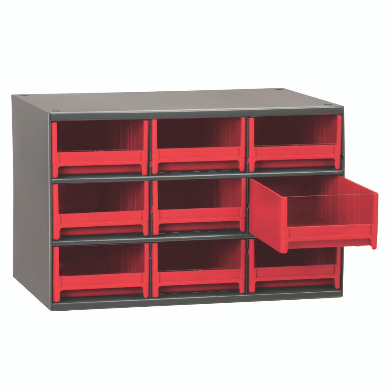 Cabinet, 19-Series Steel Cabinet w/ 9 Drawers  19909RED