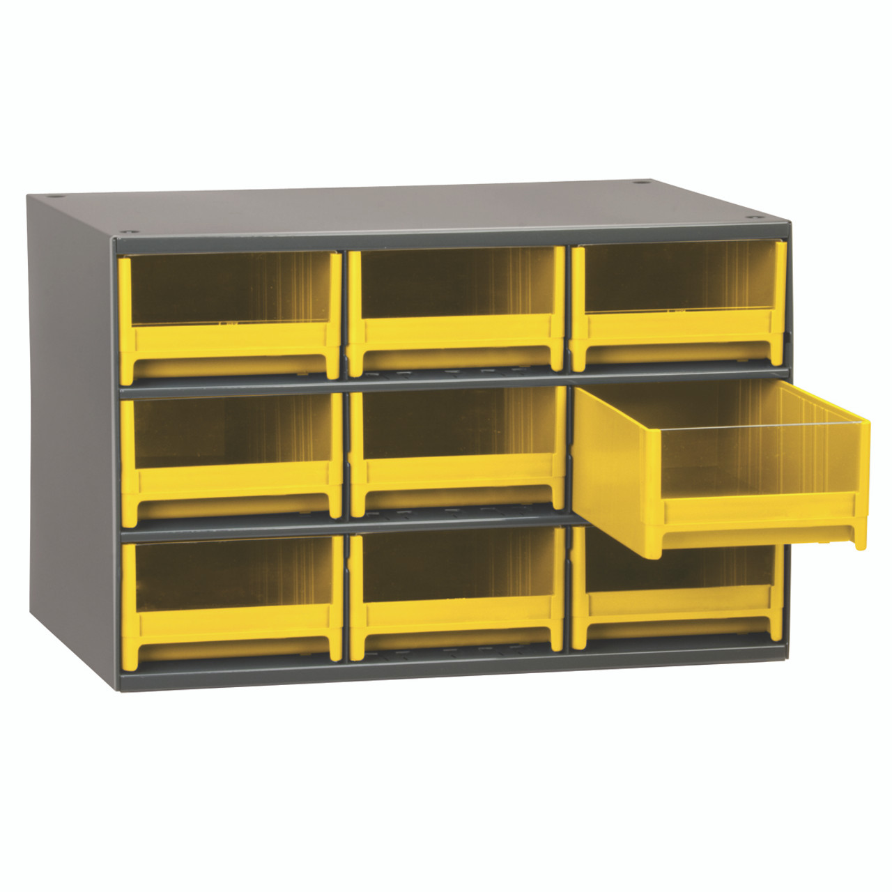Cabinet, 19-Series Steel Cabinet w/ 9 Drawers  19909YEL