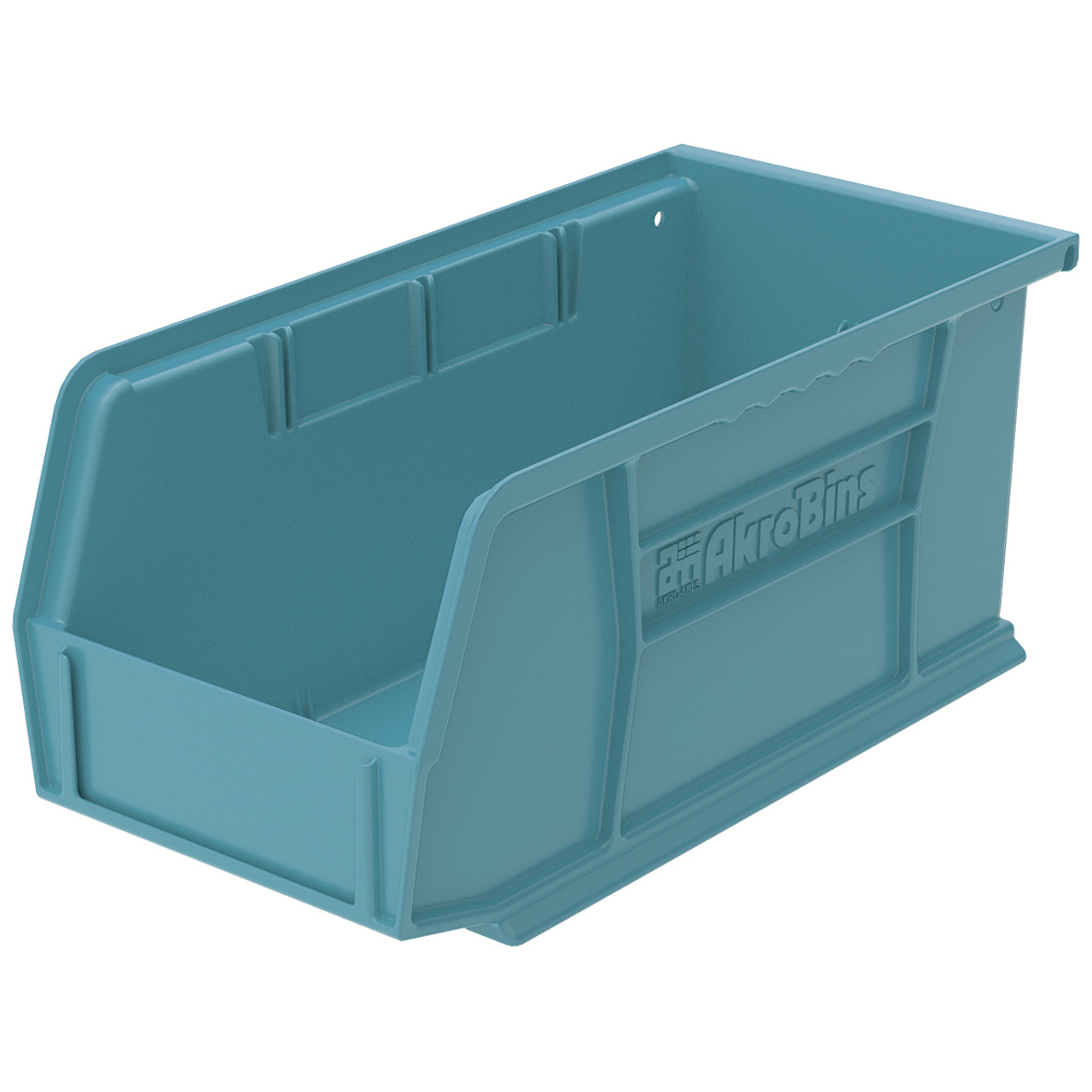 Bin, AkroBin 10-7/8 x 5-1/2 x 5, Light Blue  30230LTBLU