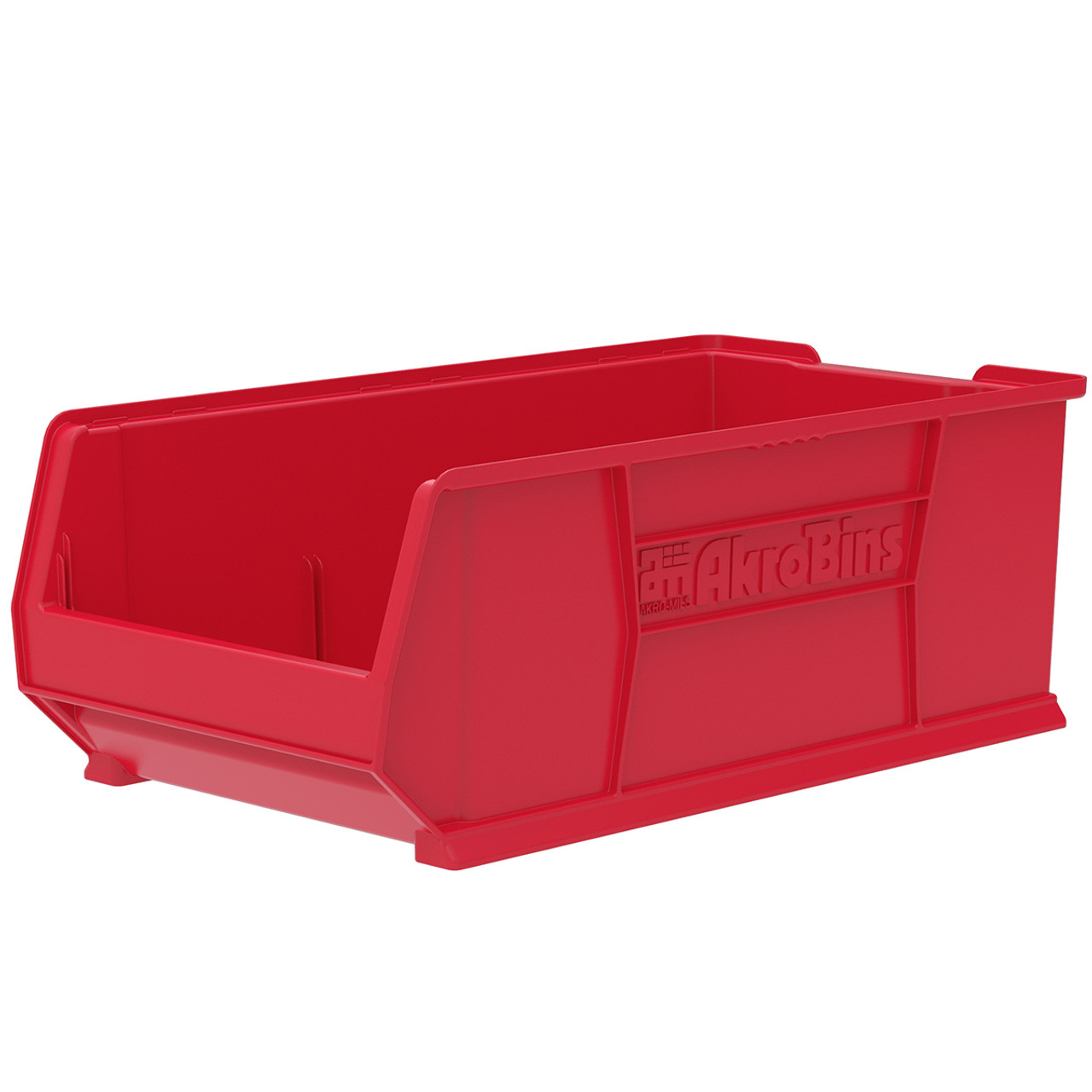 Bin, Super Size AkroBin 29-7/8 x 16-1/2 x 11  30293RED