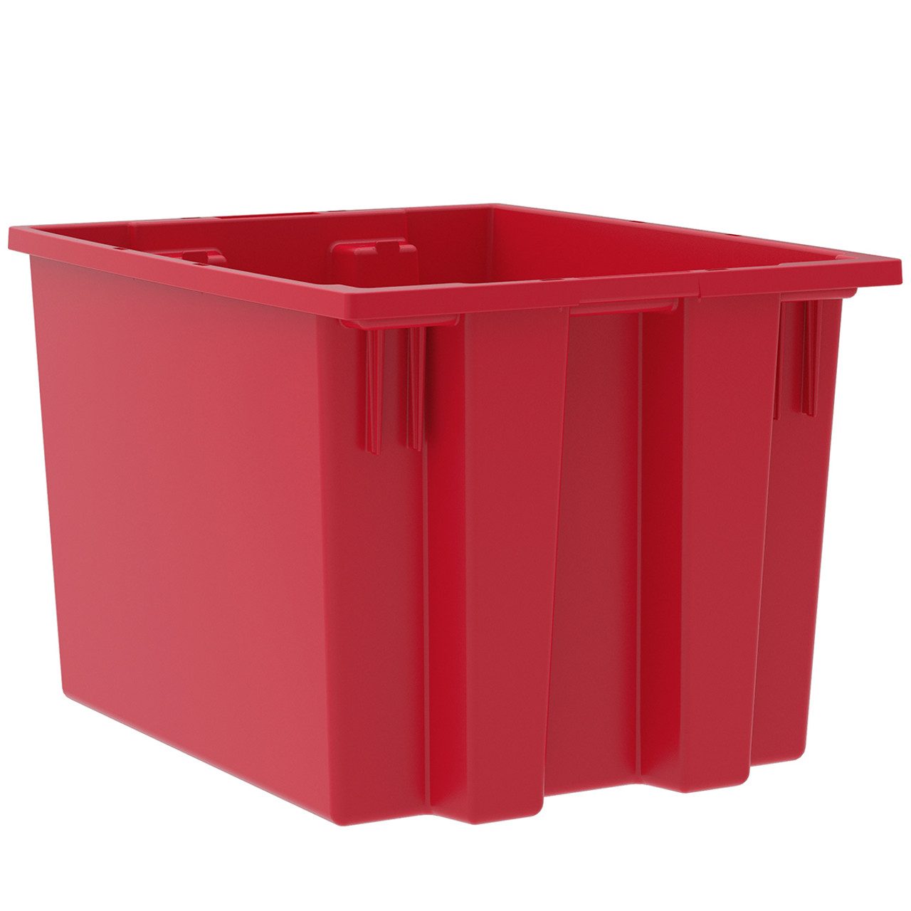 Tote, Nest & Stack Tote 19-1/2 x 15-1/2 x 13  35195RED
