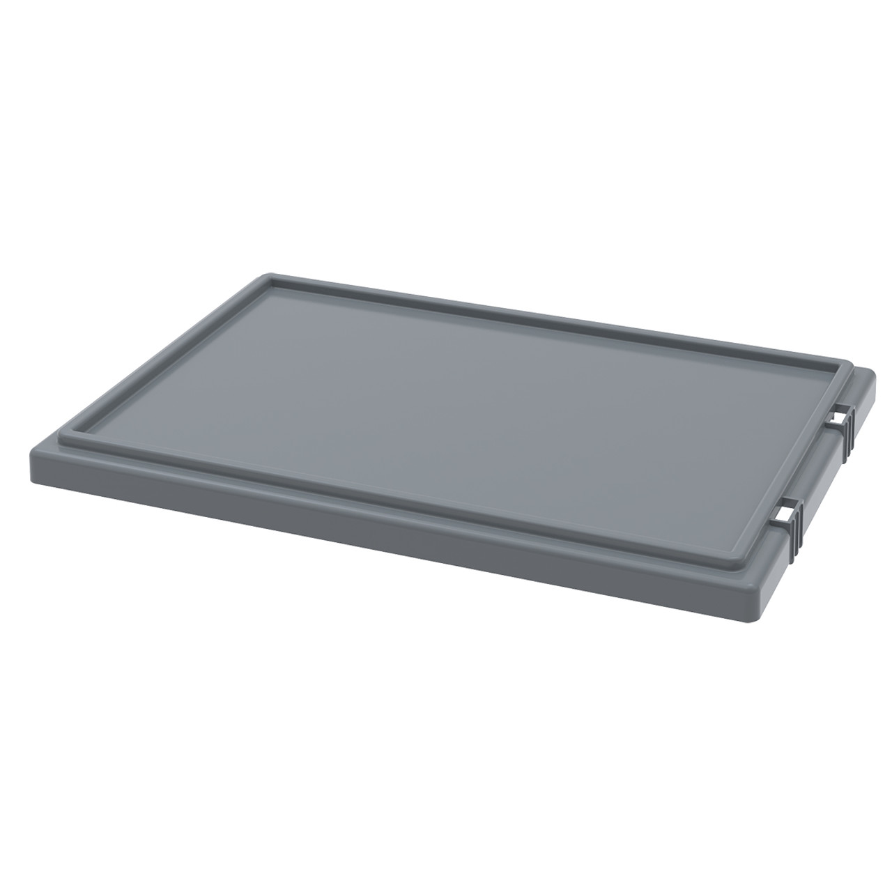Lid for Nest & Stack Totes 35200, Gray  35201GREY