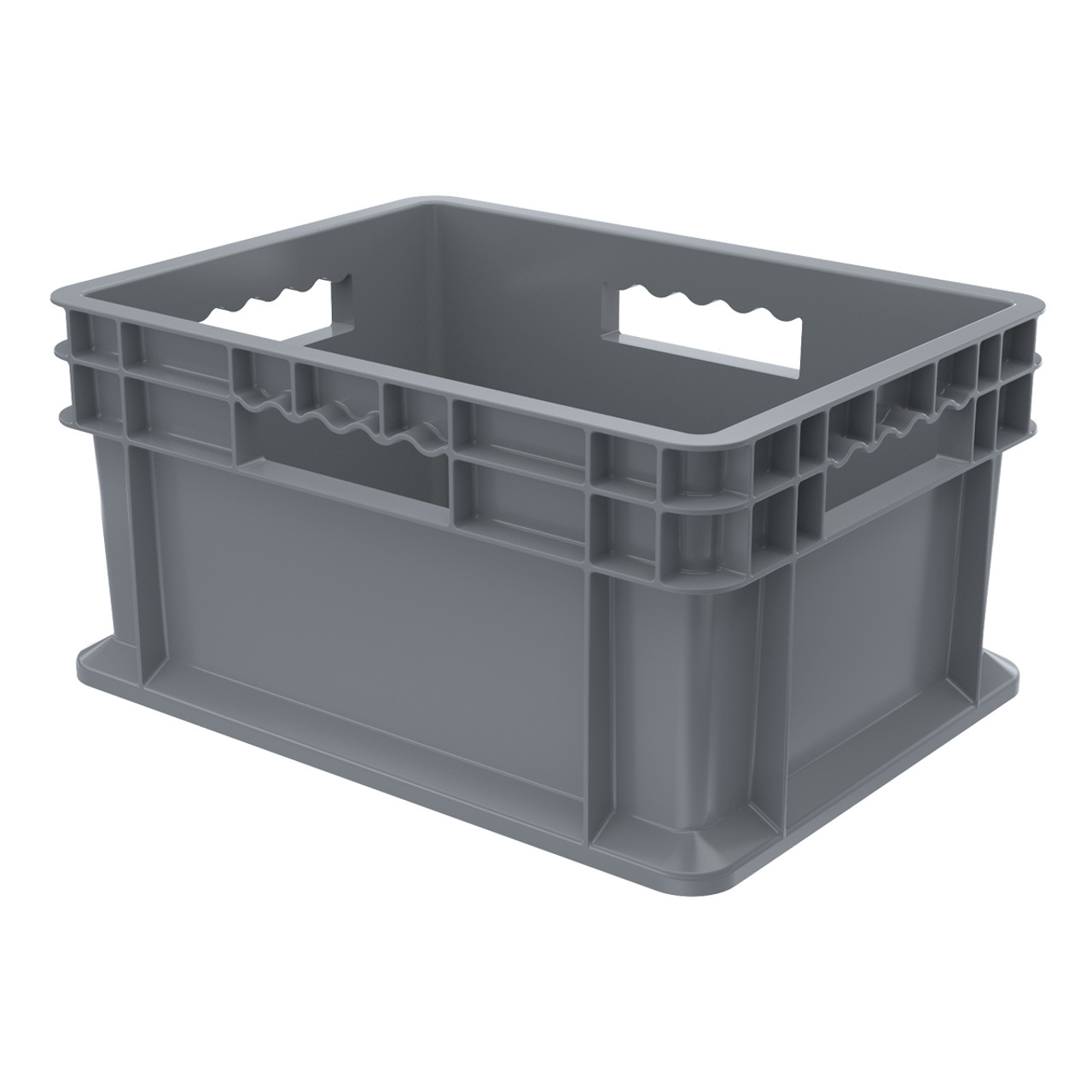 Container, Straight Wall Container, Solid   37288GREY