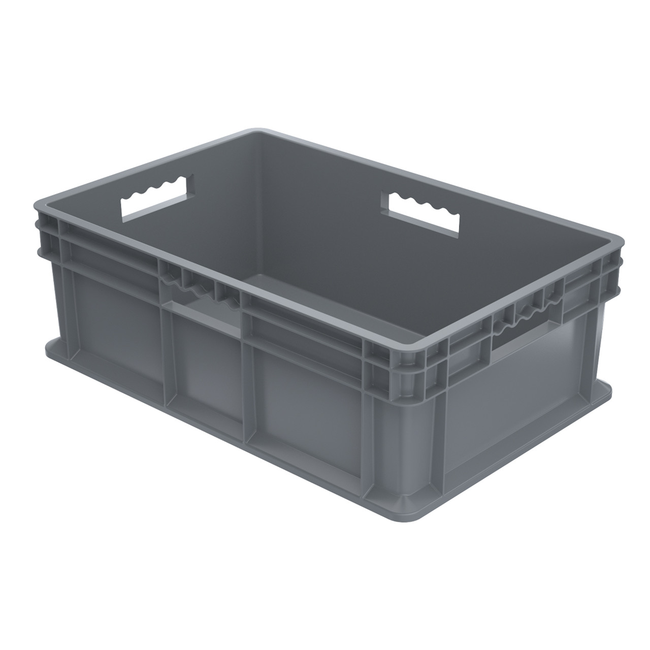 Container, Straight Wall Container, Solid   37688GREY