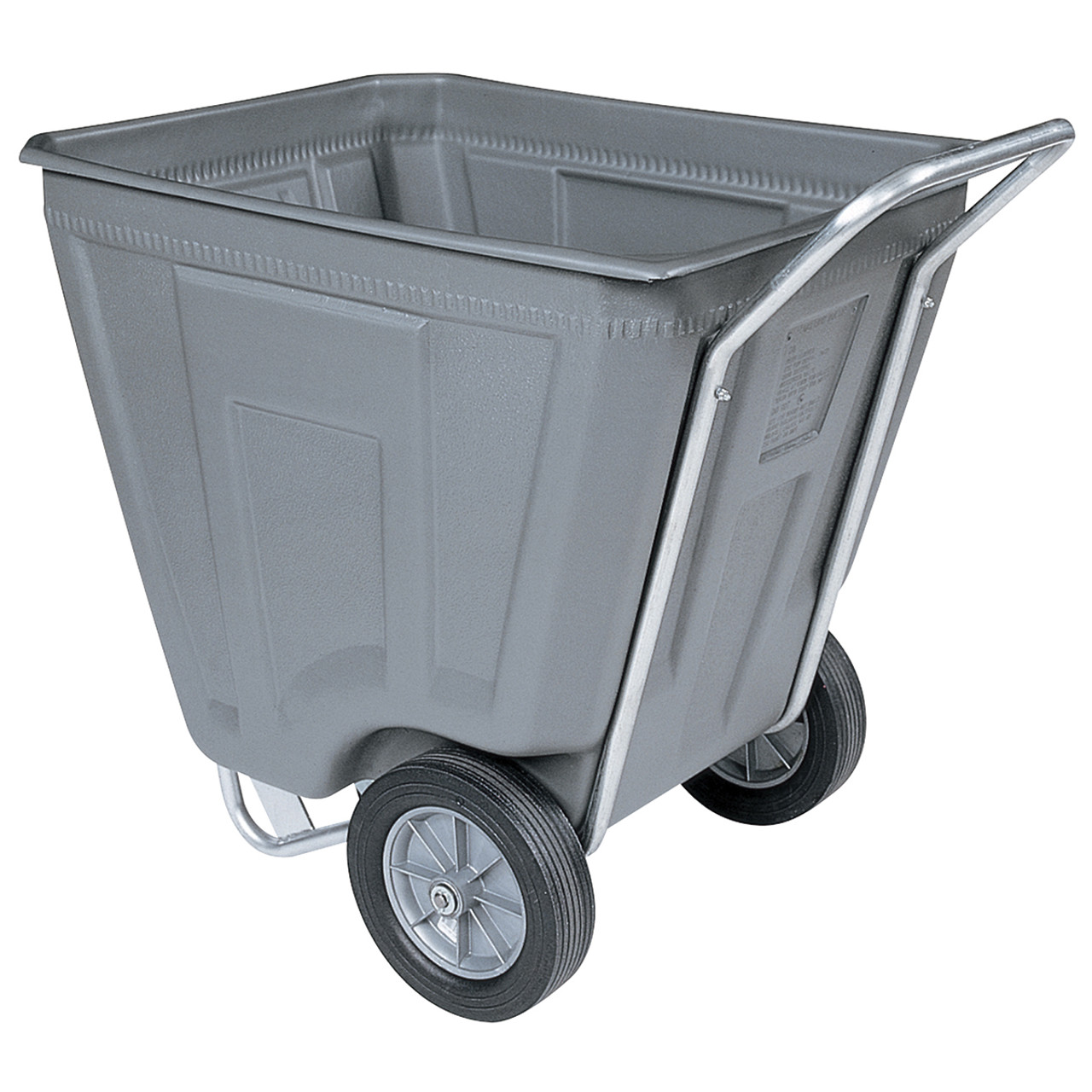 Cart, Akro-Cart 60 Gal, 30-1/2 x 48 x 33-1/2  76460GREY