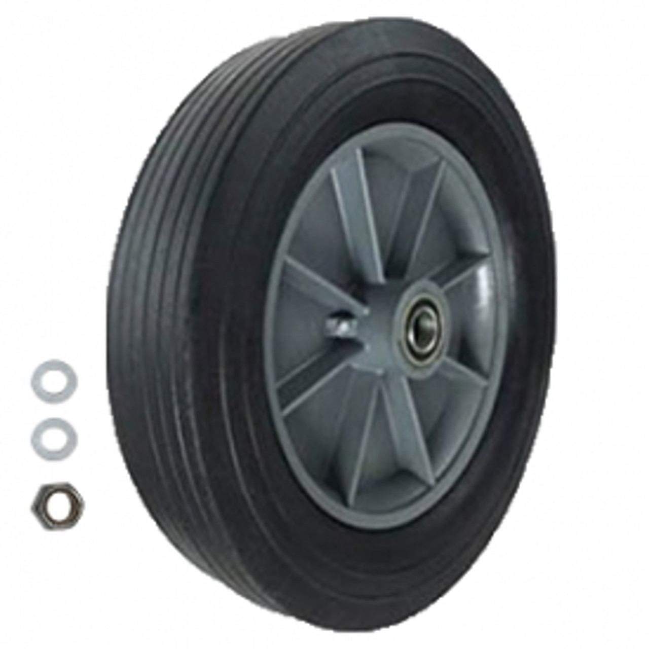 """Rubbermaid 12"""" replacement wheel"""
