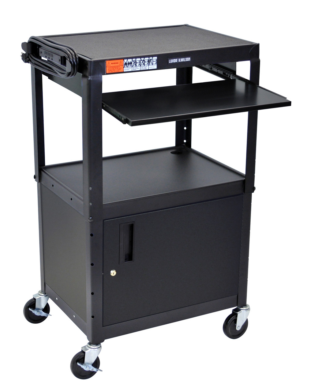 Luxor Presentation Cart BLACK AVJ42KBC