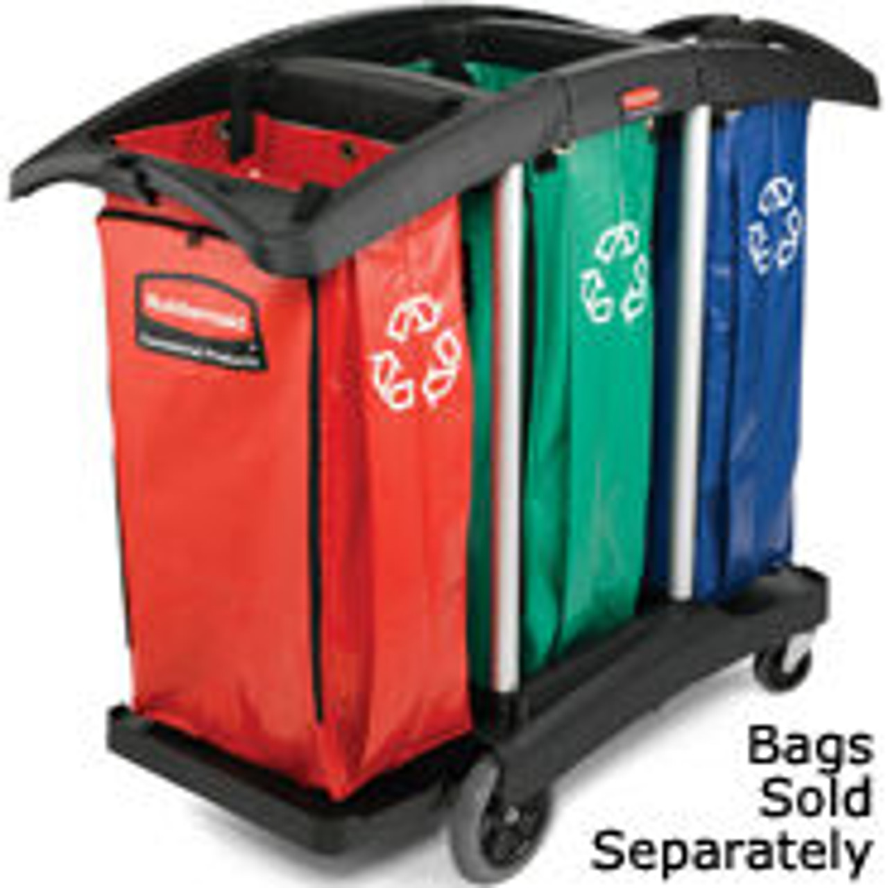 Triple Capacity Cleaning Cart