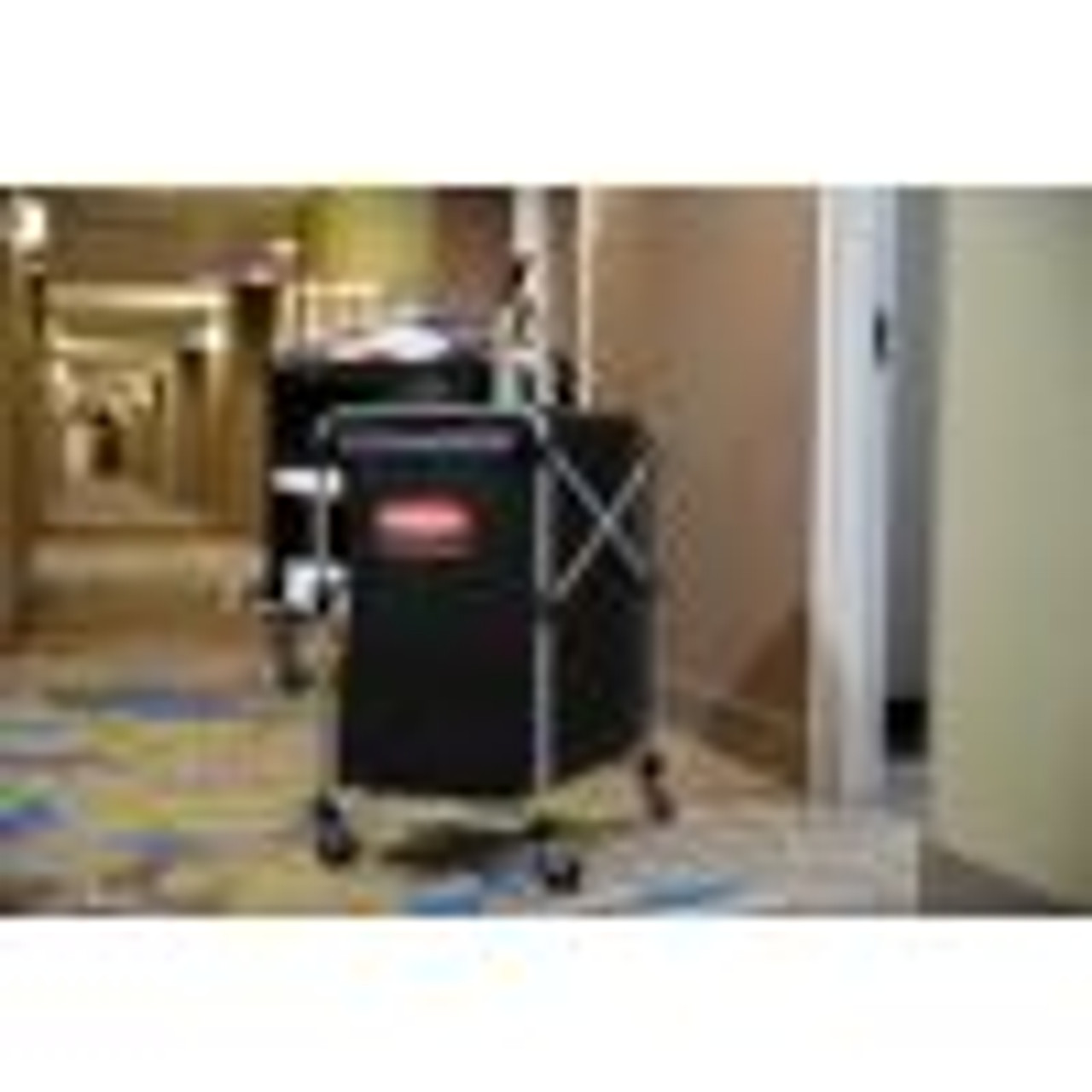 Use the X-cart for collecting linen around hotels, resorts of any facility looking for a better way to transport product like towels or even collect trash for recycling.