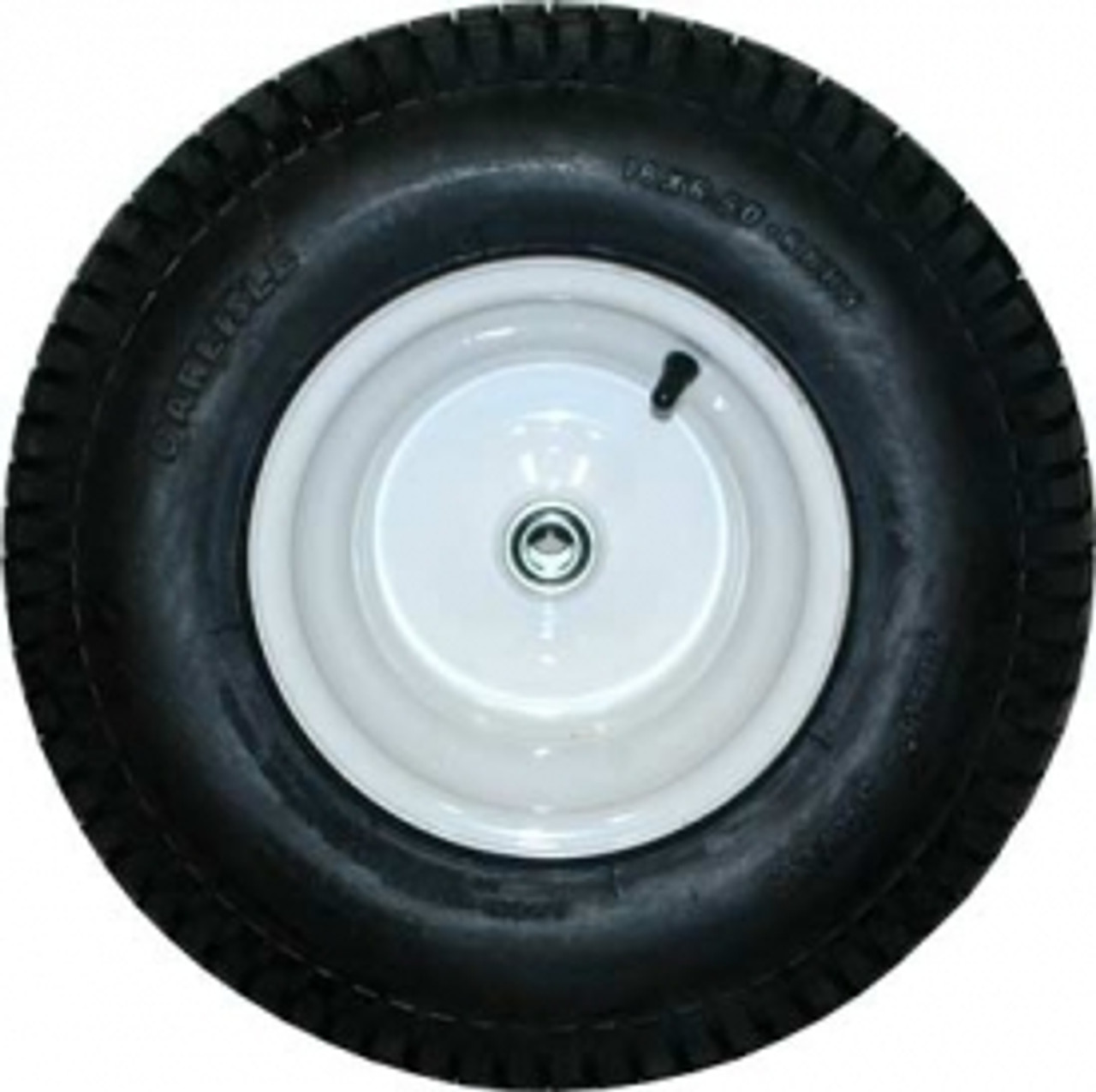 "Replacement parts 5642-10 7.5 Cu. Ft. Heavy-Duty Big Wheel® Cart  allows you to repair your Rubbermaid 5640 7.5 Cu. Ft. Low Wheel Cart. Turf Save Tire on 14 gauge steel rim with 3/4"" axle with ball bearings  Fits 564210"
