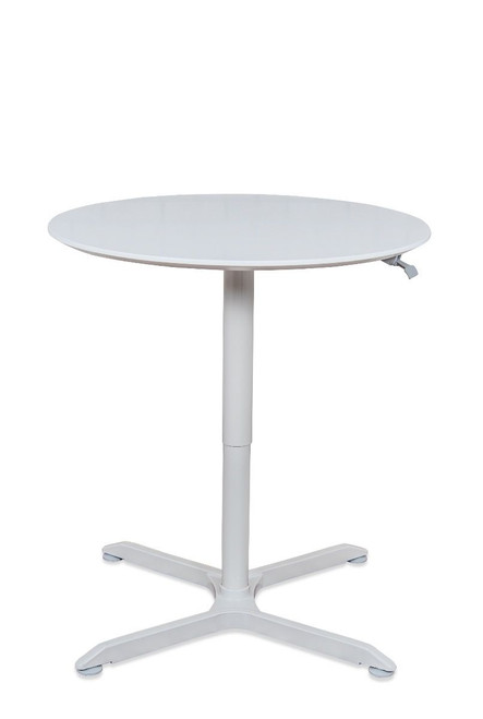 "32"" PNEUMATIC HEIGHT ADJUSTABLE ROUND TABLE"