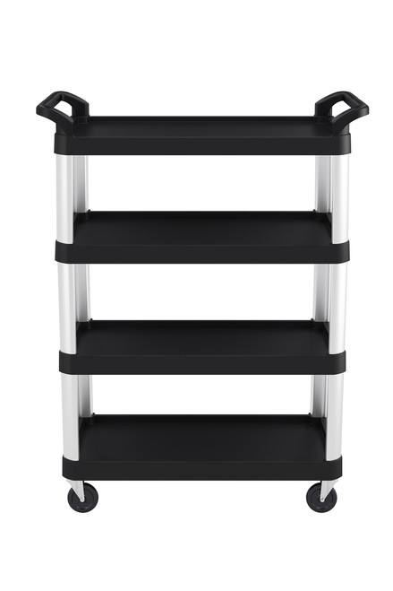 RESTAURANT/SERVICE CART - 4 SHELF 20X40