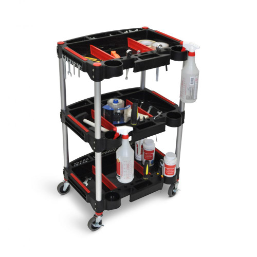 Mechanic's Three-Shelf Cart