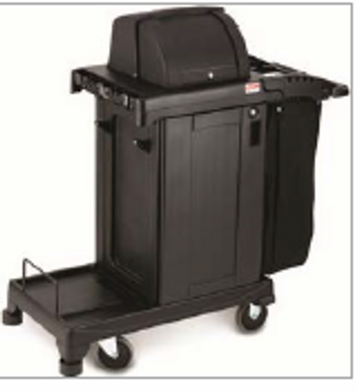 High Security Cleaning Cart