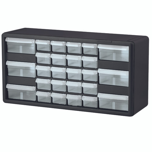 Cabinet, Plastic Storage Cabinet 26 Drawer 10126