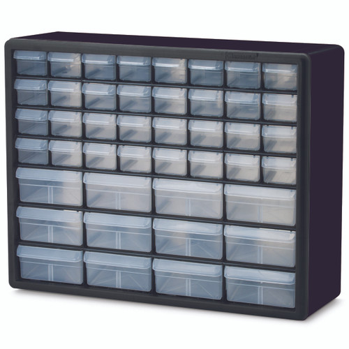 Cabinet, Plastic Storage Cabinet 44 Drawer 10144