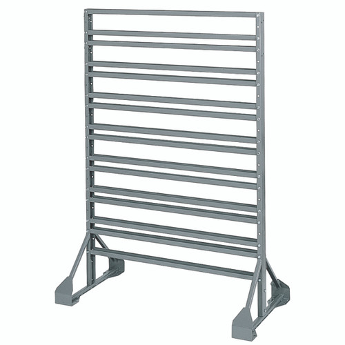 Rack, Rail Rack, 2-Sided, 16 Rails, Gray  30016