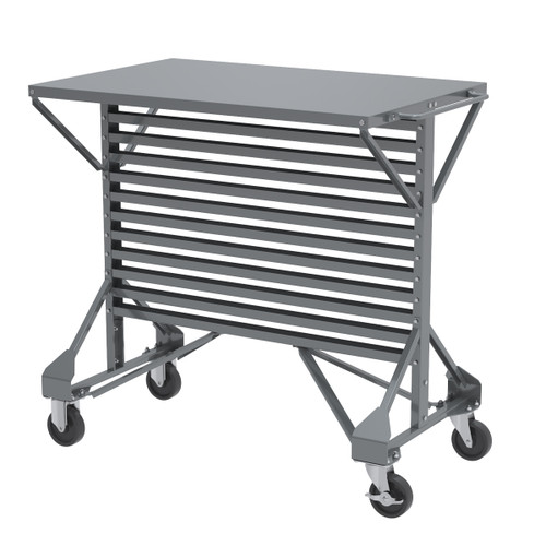 Cart, Mobile Bin Cart, 38-1/2 x 24 x 36-1/2 30812