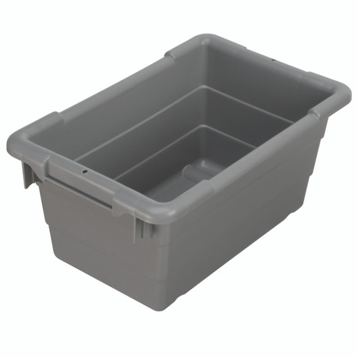Tub, Cross-Stack Akro-Tub 17 x 11 x 8, Gray  34301