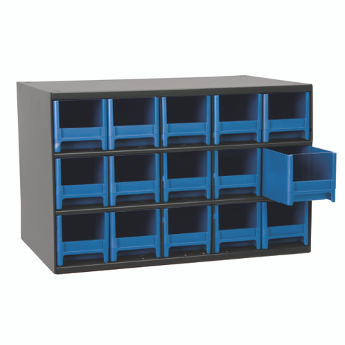 Cabinet, 19-Series Steel Cabinet w/ 15 Drawers  19715BLU