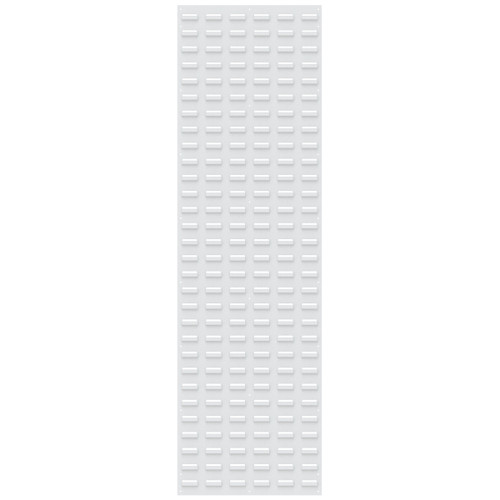 Panel, Louvered Wall Panel, 18 x 61, White 30118TEXWHT