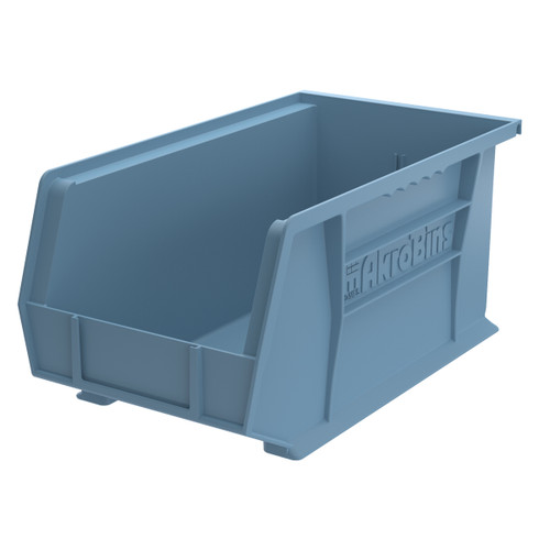Bin, AkroBin 14-3/4 x 8-1/4 x 7, Light Blue  30240LTBLU