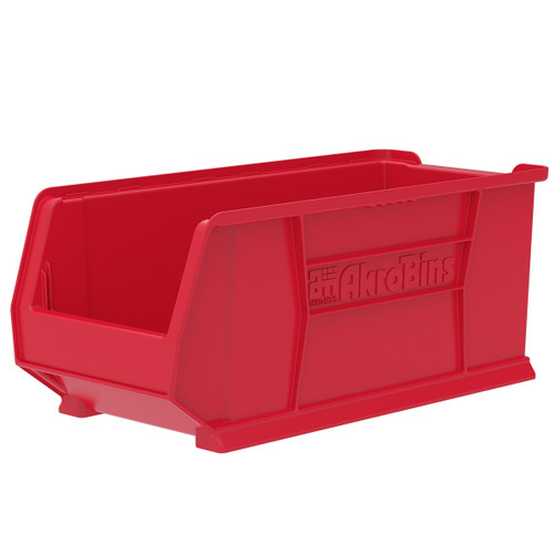 Bin, Super Size AkroBin 23-7/8 x 11 x 10  30287RED