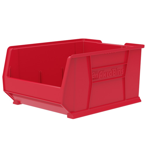 Bin, Super Size AkroBin 23-7/8 x 18-1/4 x 12  30289RED