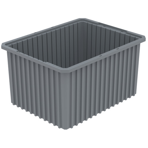Grid Box, Akro-Grid  Box 22-1/2 x 17-1/2 x 12 33222GREY