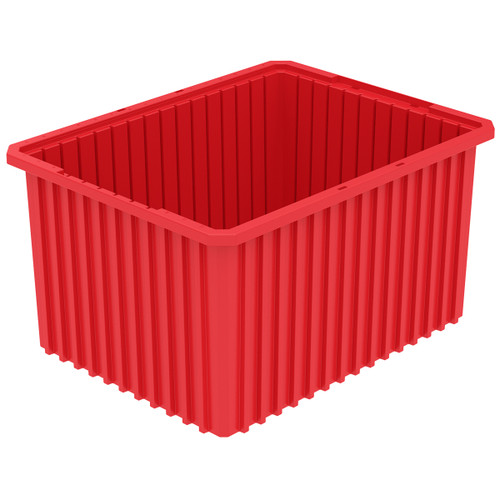 Grid Box, Akro-Grid  Box 22-1/2 x 17-1/2 x 12 33222RED