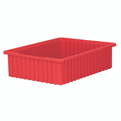 Grid Box, Akro-Grid  Box 22-3/8 x 17-3/8 x 6  33226RED