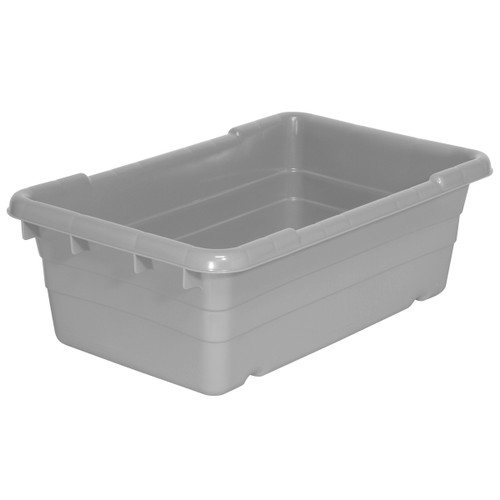 Tub, Cross-Stack Akro-Tub 25 x 16 x 8, Gray  34305GREY