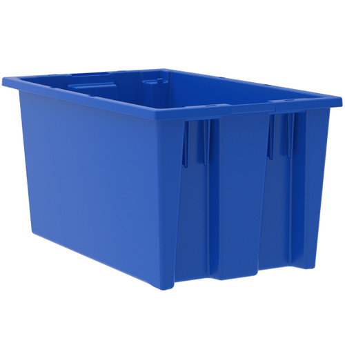 Tote, Nest & Stack Tote 18 x 11, 9, Blue  35185BLUE