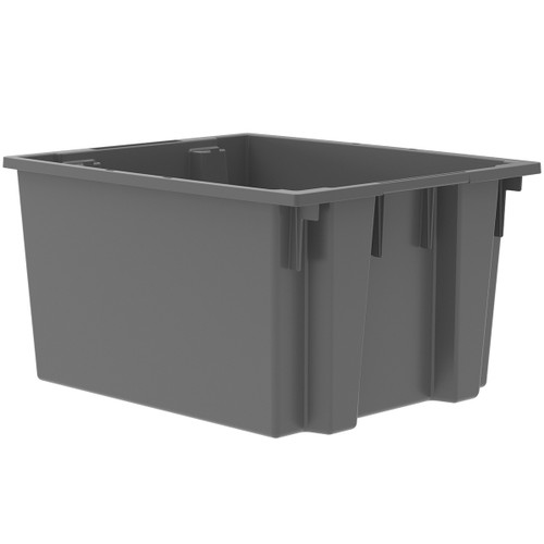 Tote, Nest & Stack Tote 23-1/2 x 19-1/2 x 13  35230GREY