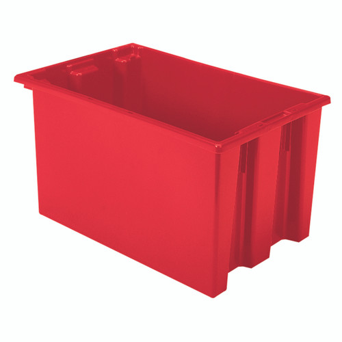 Tote, Nest & Stack Tote 23-1/2 x 15-1/2 x 12  35240RED