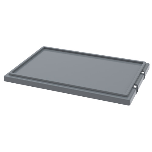 Lid for Nest & Stack Totes 35240, Gray  35241GREY