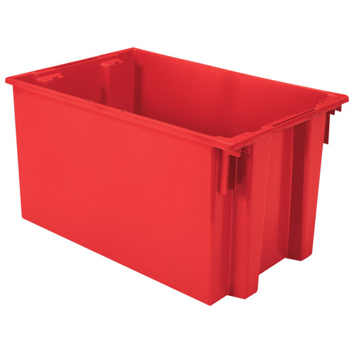 Tote, Nest & Stack Tote 29-1/2 x 19-1/2 x 15  35300RED