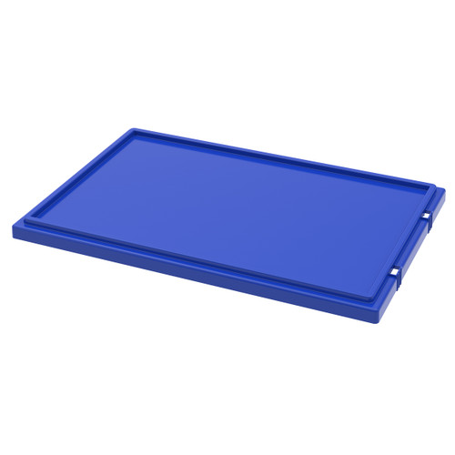 Lid for Nest & Stack Totes 35300, Blue  35301BLUE