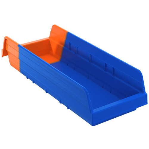 Bin, Indicator Bin 17-7/8 x 6-5/8 x 4/Orange  36468BLUE